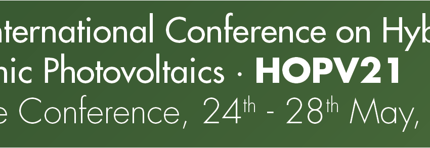 HOPV21 13th Conference on Hybrid and Organic Photovoltaics